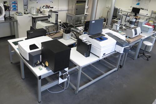 Vue du laboratoire d'essai thermique d'influtherm